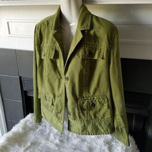 Chico's Green Jacket 2